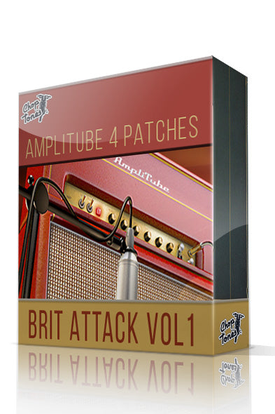 Brit Attack Vol.1 for Amplitube 4
