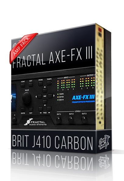 Brit J410 Carbon Amp Pack for AXE-FX III