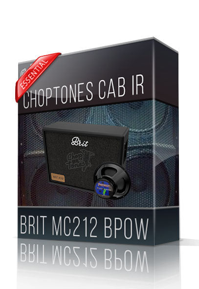 Brit MC212 BPow Essential Cabinet IR - ChopTones