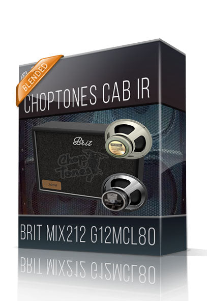 Brit Mix212 G12MCL80 Cabinet IR - ChopTones