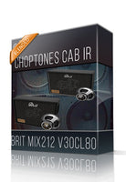 Brit Mix212 V30CL80 Cabinet IR - ChopTones