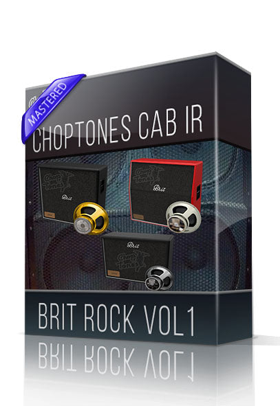 Brit Rock vol1 Cabinet IR - ChopTones