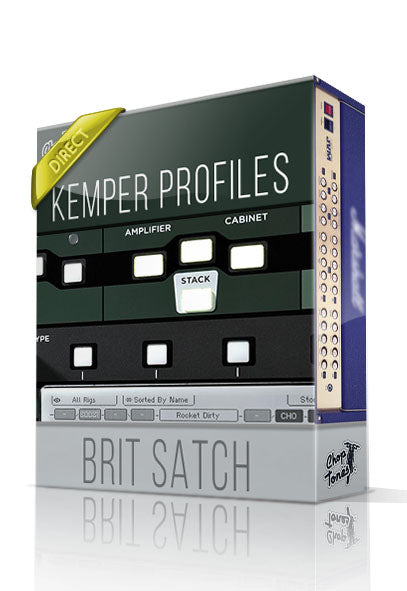 Brit Satch DI Kemper Profiles - ChopTones