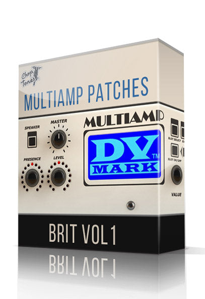 Brit Vol.1 for DV Mark Multiamp - ChopTones
