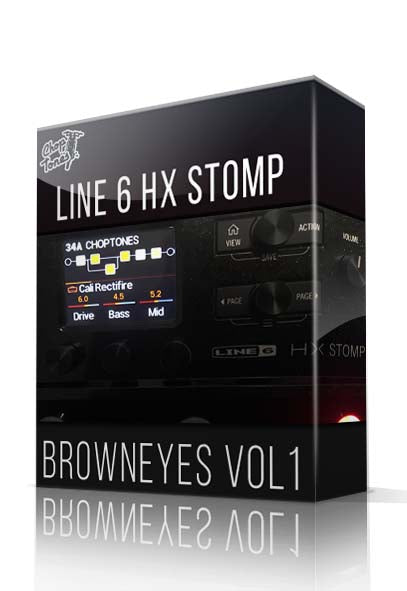 Browneyes Vol.1 for HX Stomp - ChopTones