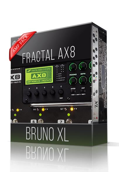 Bruno XL Amp Pack for AX8 - ChopTones
