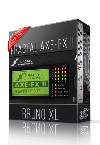 Bruno XL Amp Pack for AXE-FX II - ChopTones