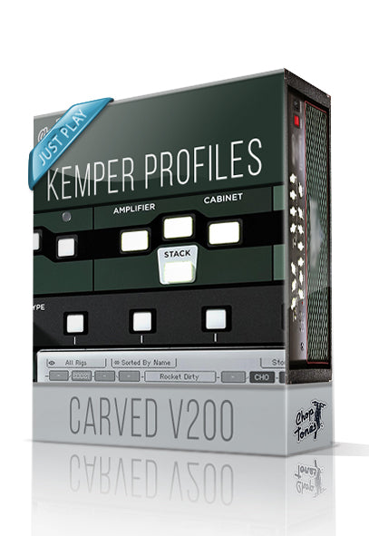 Carved V200 Just Play Kemper Profiles - ChopTones