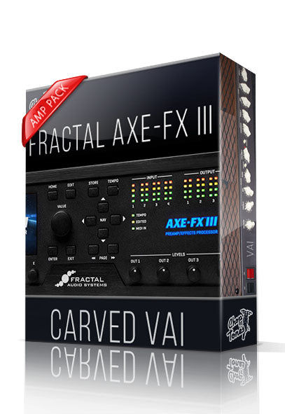 Carved Vai Amp Pack for AXE-FX III