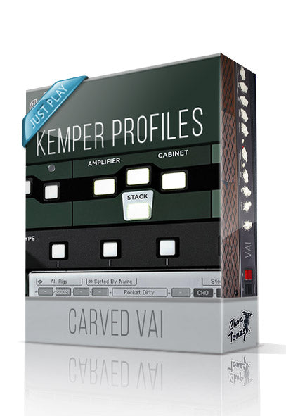 Carved Vai Just Play Kemper Profiles - ChopTones