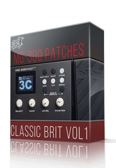 Classic Brit vol.1 for MG-300