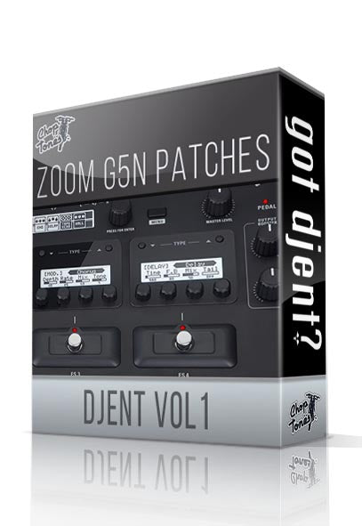 Djent vol.1 for G5n - ChopTones
