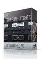 Downtuned vol.1 for G3n/G3Xn - ChopTones