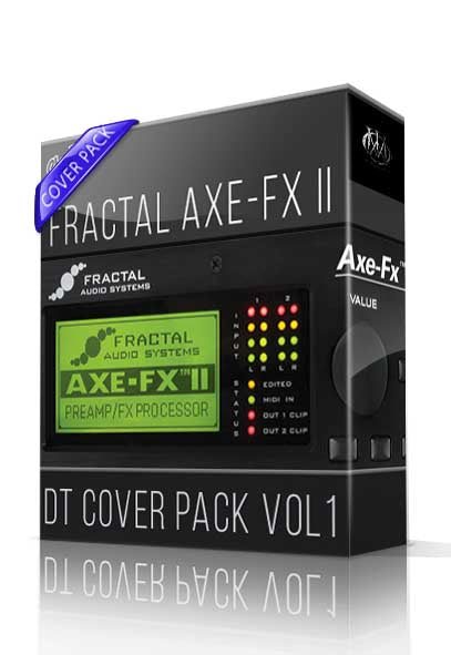 DT Cover Pack vol.1 for AXE-FX II - ChopTones