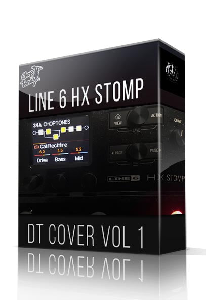 DT Cover Pack vol.1 for HX Stomp - ChopTones