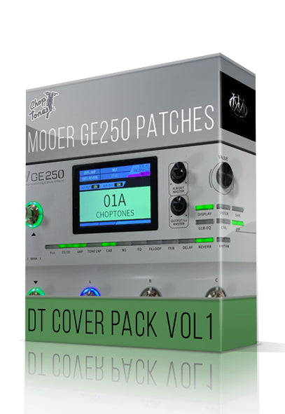 DT Cover Pack vol.1 for GE250 - ChopTones