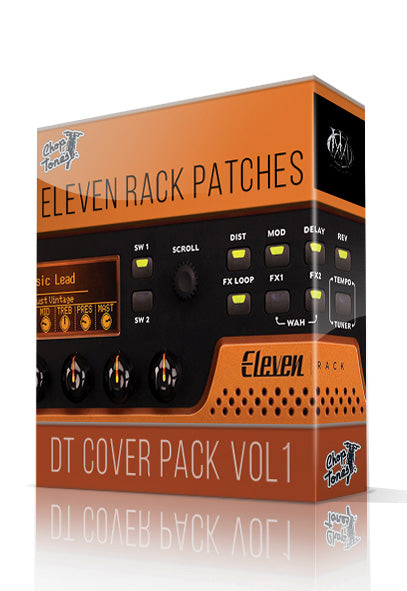 DT Cover Pack Vol.1 for Eleven Rack - ChopTones