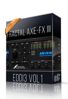 Eddi3 vol.1 for AXE-FX III - ChopTones