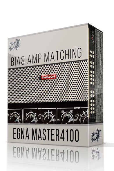 Egna Master4100 vol.1 Bias Amp Matching Pack - ChopTones