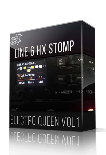 Electro Queen Vol.1 for HX Stomp - ChopTones