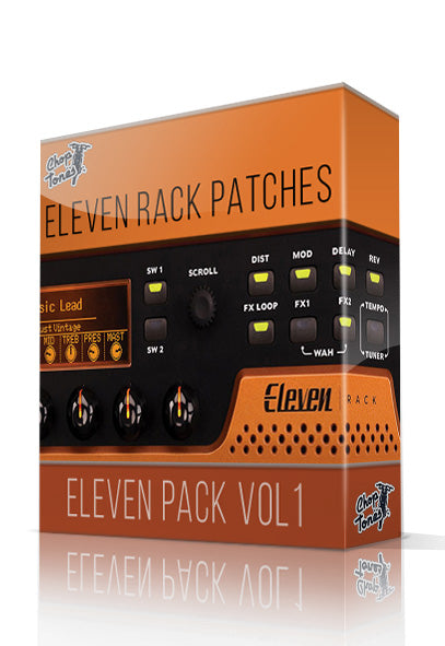 Djent Vol.1 for Eleven Rack - ChopTones