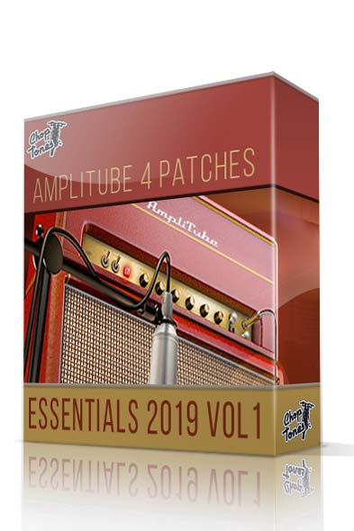 Essentials 2019 Vol.1 for Amplitube 4