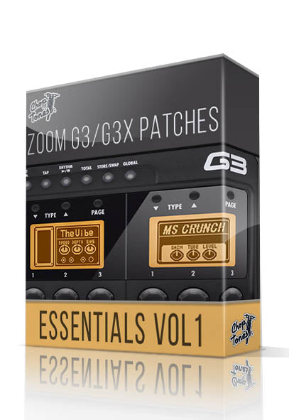 Essentials vol.1 for G3 / G3X