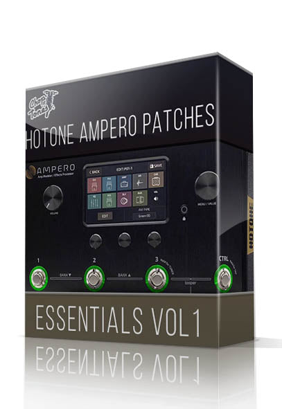 Ampero Essentials vol.1 for Hotone Ampero - ChopTones