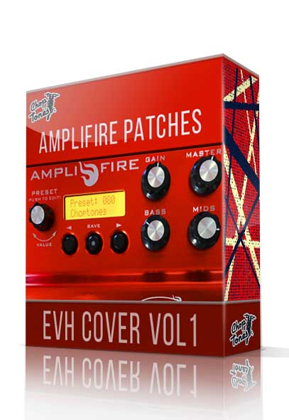 EVH Cover vol.1 for Atomic Amplifire