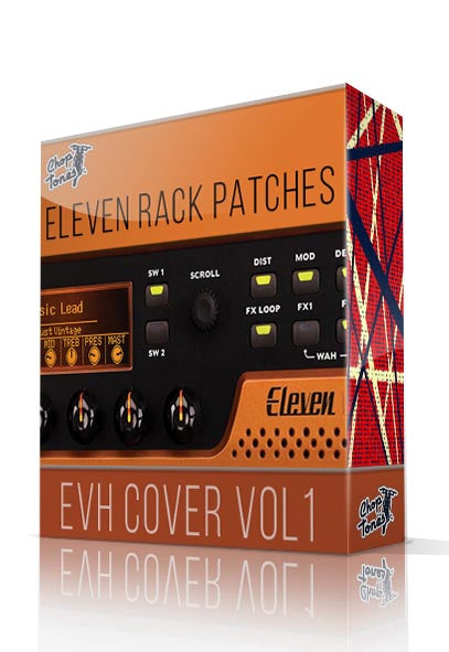 EVH Cover Vol.1 for Eleven Rack