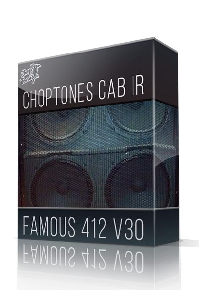 Famous 412 V30 Cabinet IR - ChopTones