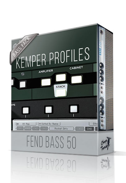 Fend Bass 50 Bass Pack Kemper Profiles - ChopTones