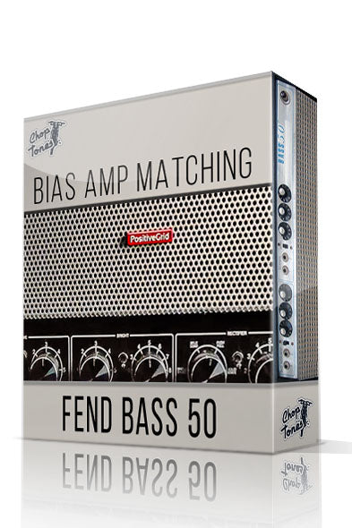 Fend Bass50 vol.1 Bias Amp Matching Pack - ChopTones
