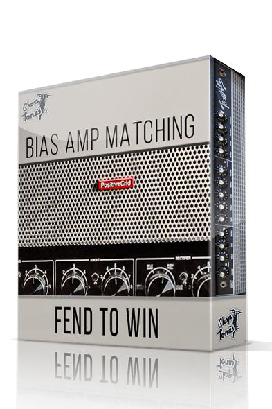 Fend ToWin vol.1 Bias Amp Matching Pack - ChopTones
