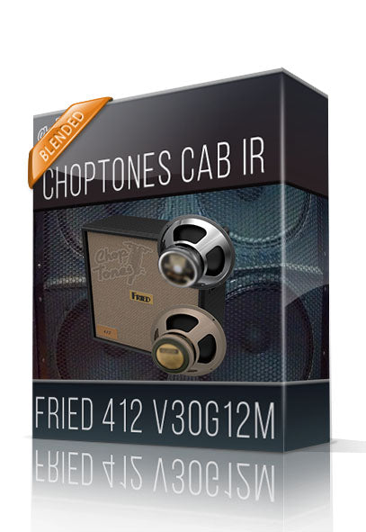 Fried 412 V30G12M Cabinet IR - ChopTones