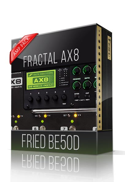 Fried BE50D Amp Pack for AX8 - ChopTones