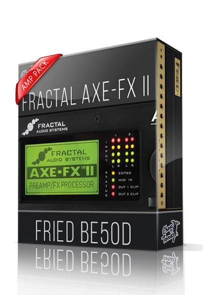 Fried BE50D Amp Pack for AXE-FX II - ChopTones
