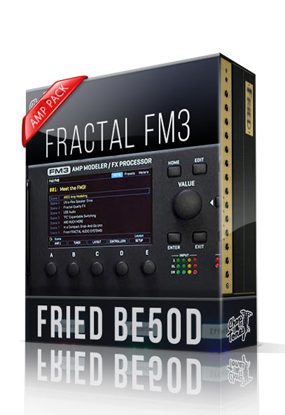 Fried BE50D Amp Pack for FM3