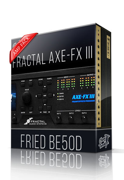 Fried BE50D Amp Pack for AXE-FX III