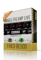 Fried BE50D vol.1 Studio Tone Capture for Mooer Preamp Live - ChopTones
