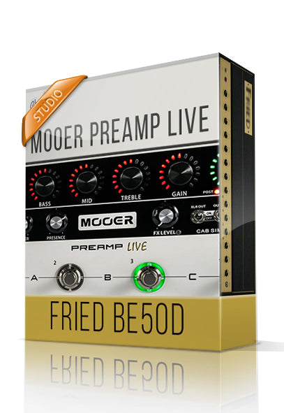 Fried BE50D vol.1 Studio Tone Capture for Mooer Preamp Live