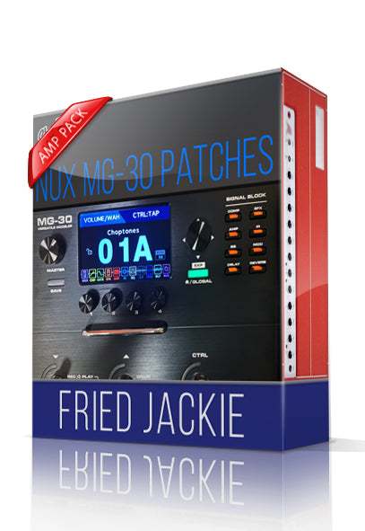Fried Jackie Amp Pack for MG-30