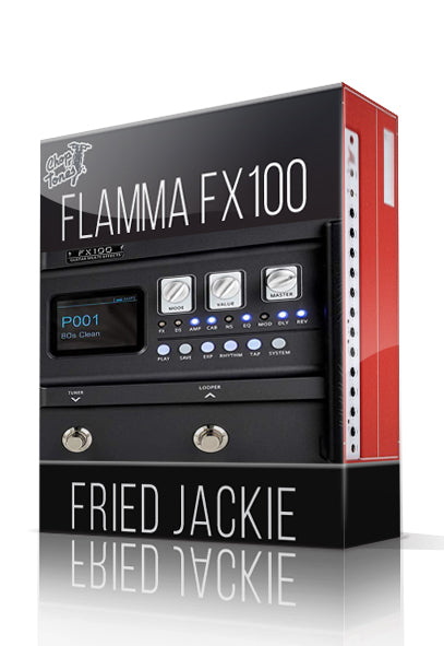 Fried Jackie Amp Pack for FX100
