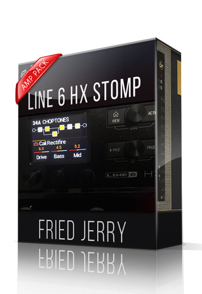 Fried Jerry Amp Pack for HX Stomp - ChopTones