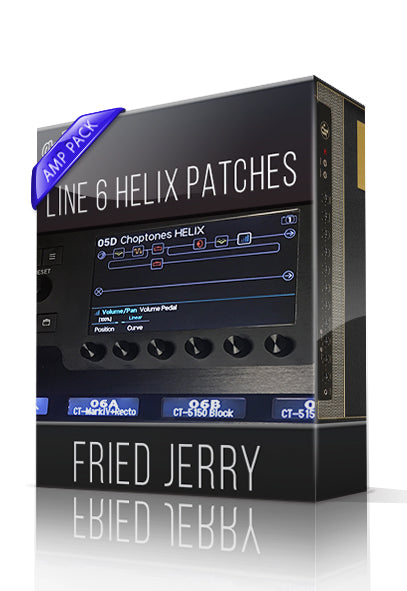 Fried Jerry Amp Pack for Line 6 Helix - ChopTones