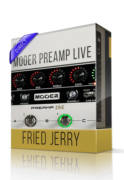Fried Jerry vol.1 Direct Tone Capture for Mooer Preamp Live - ChopTones