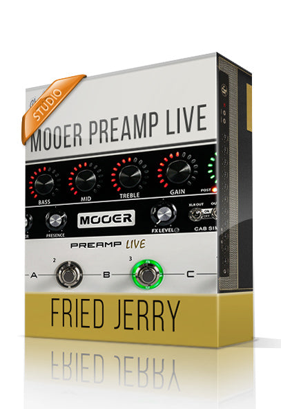 Fried Jerry vol.1 Studio Tone Capture for Mooer Preamp Live