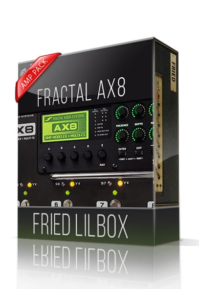 Fried Lilbox Amp Pack for AX8 - ChopTones