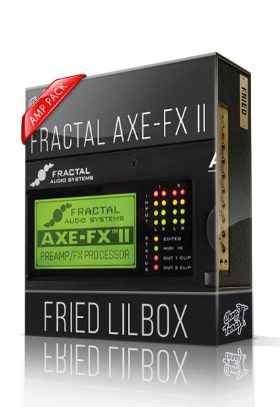 Fried Lilbox Amp Pack for AXE-FX II - ChopTones