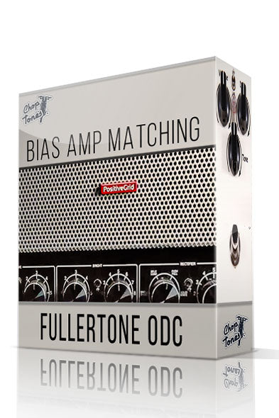 Fullertone ODC vol.1 Bias Amp Matching Pack - ChopTones